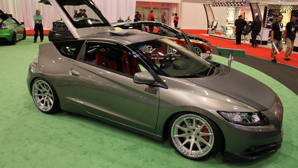 2010 SEMA: Honda CR-Z show car live photos