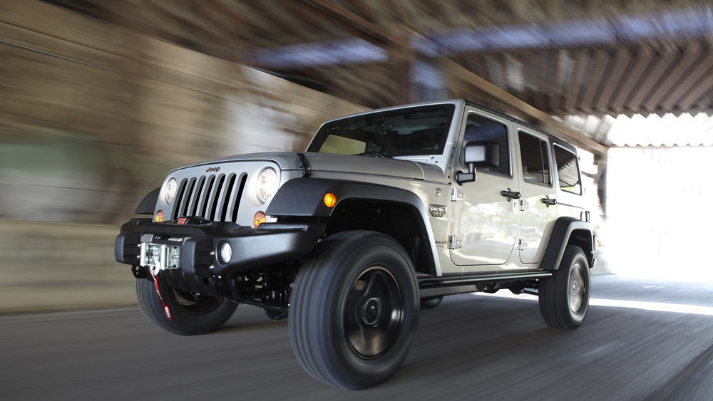 2012 Jeep Wrangler Call of Duty: Modern Warfare 3 special edition