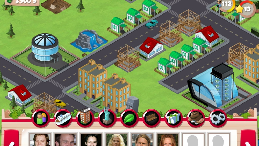 GreenSight City online Facebook game