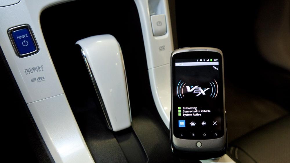 GM's smartphone-based vehicle communication app
