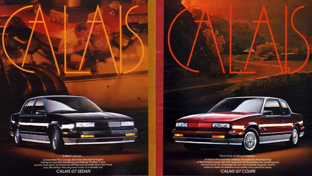 Oldsmobile Cutlass Calais Quad 4