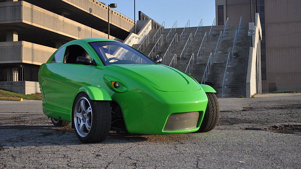 Elio Motors 84 mpg 3-wheeler [Image: Elio Motors]