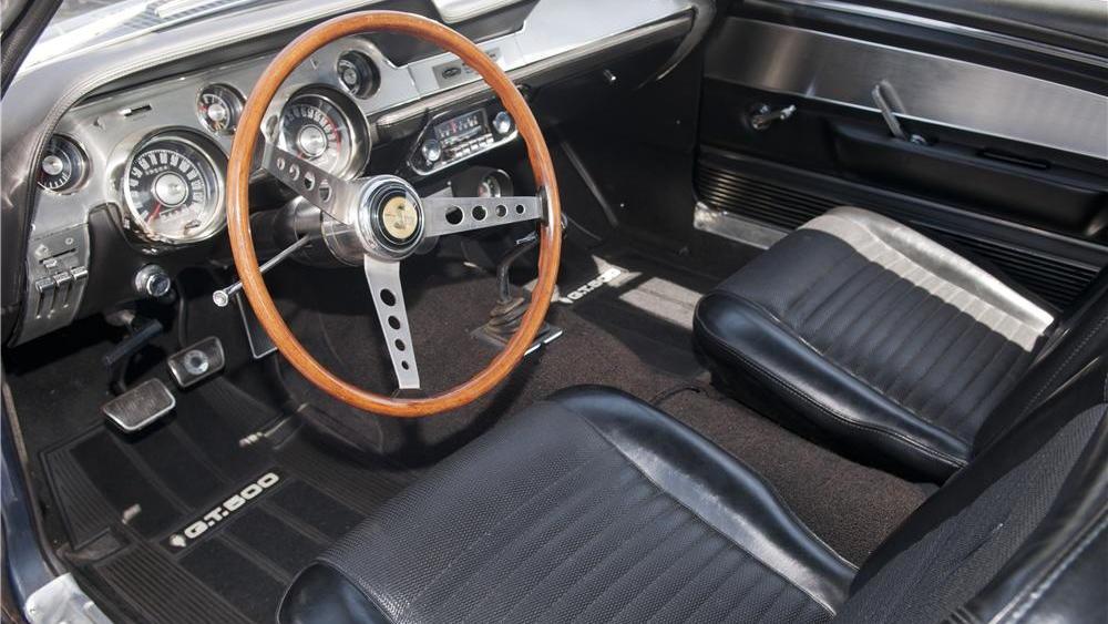Stephen Becker's ultra-low mileage 1967 Shelby GT500 - image: Barrett-Jackson