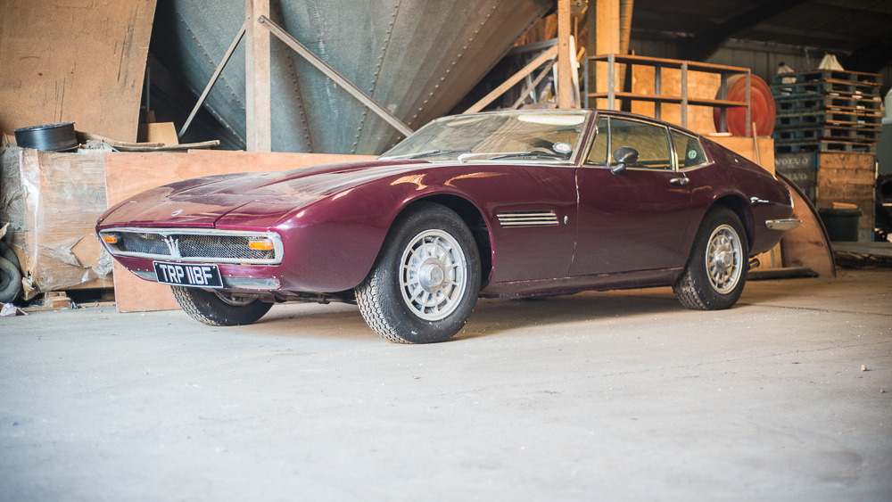 1968 Maserati Ghibli barn find - image: Silverstone Auctions