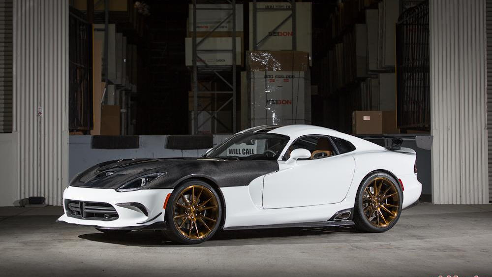 2013 Dodge SRT Viper by Vivid Racing, SEMA 2013