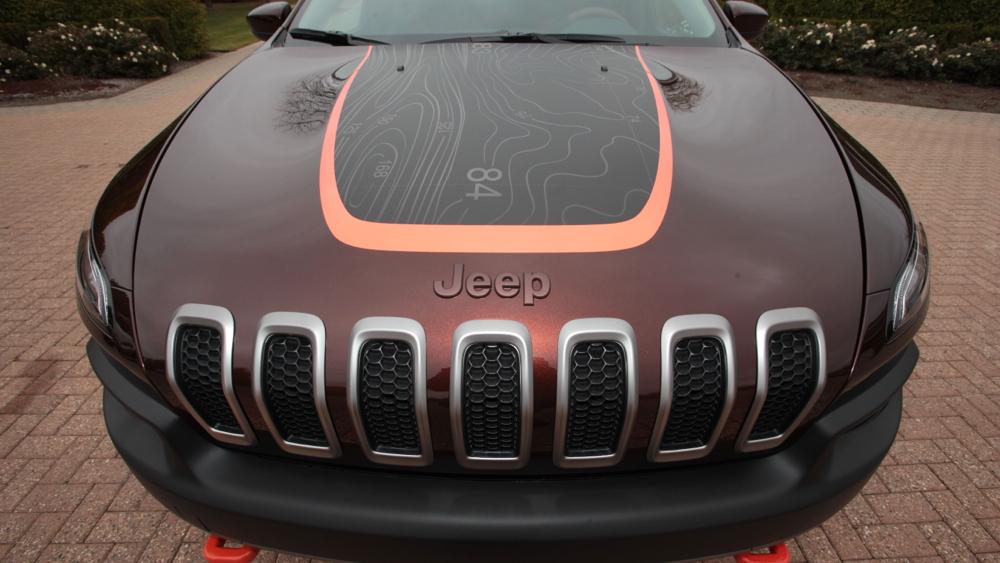 SEMA 2013 Jeep Cherokee Trail Carver