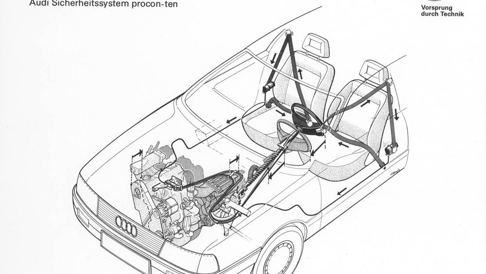 Audi crash tests