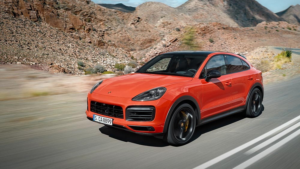Porsche Cayenne Coupe gets rakish sports redesign
