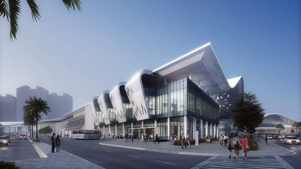 The Boring Company Las Vegas Convention Center station rendering