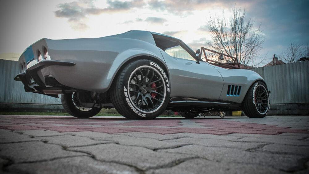 1967 Chevrolet Corvette restomod (Photo by Hardcore Engine Builders)