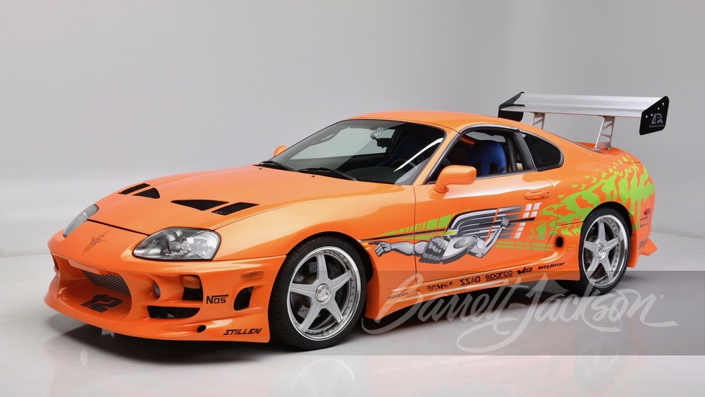 """1994 Toyota Supra from """"The Fast and the Furious"""" (Photo by Barrett-Jackson)"""
