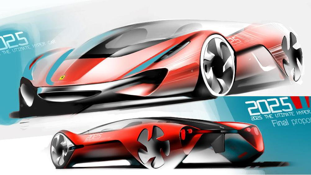 Ferrari World Design Contest - Hongik's Eternità concept