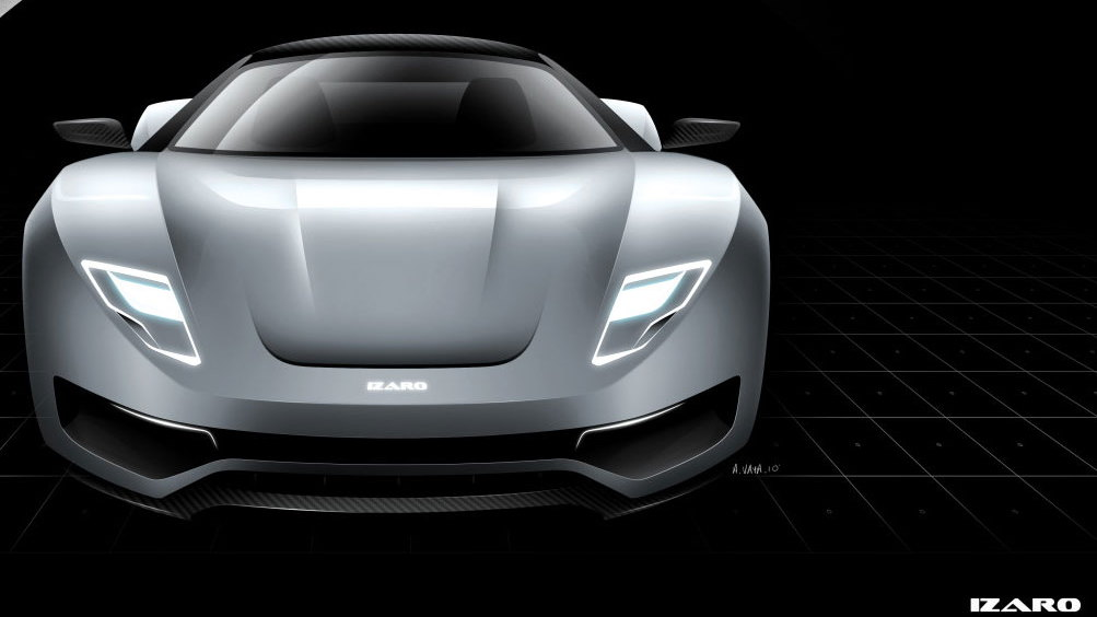 Izaro GTE supercar project