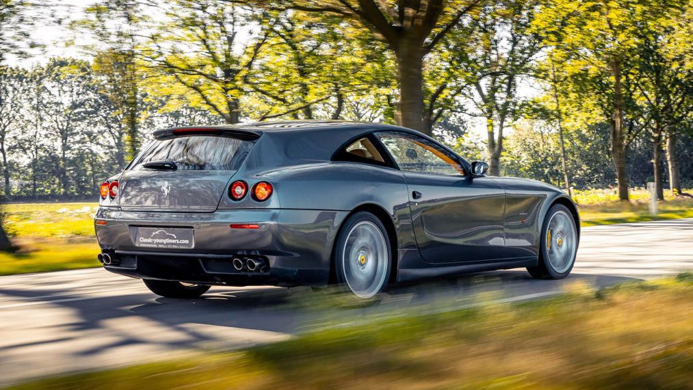 Ferrari 612 Scaglietti shooting brake by Vandenbrink