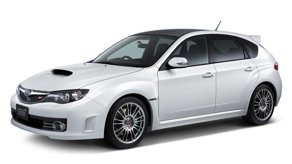 2009 Subaru Impreza WRX STI Carbon