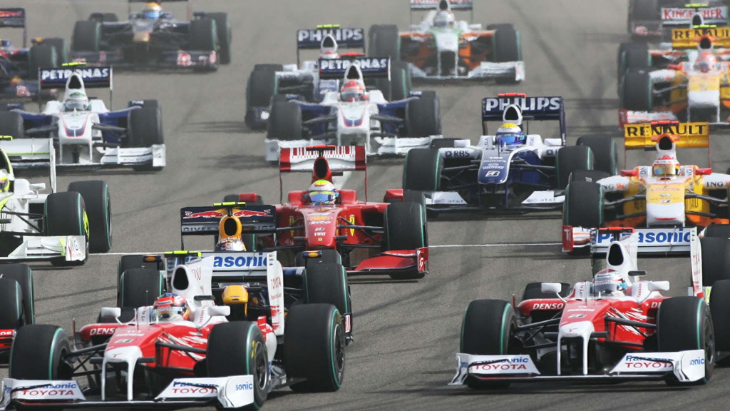 2009 F1 cars