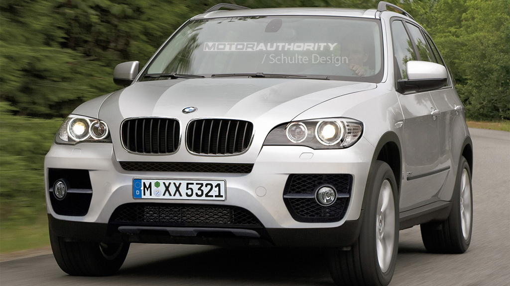 2010 BMW X5 facelift rendering