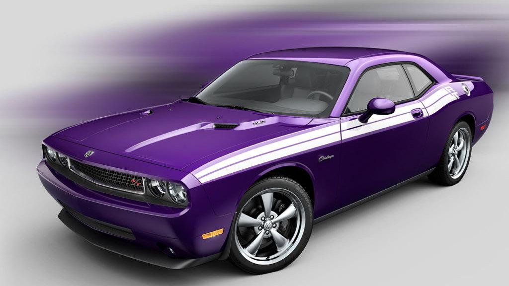 2010 Dodge Challenger R/T Plum Crazy