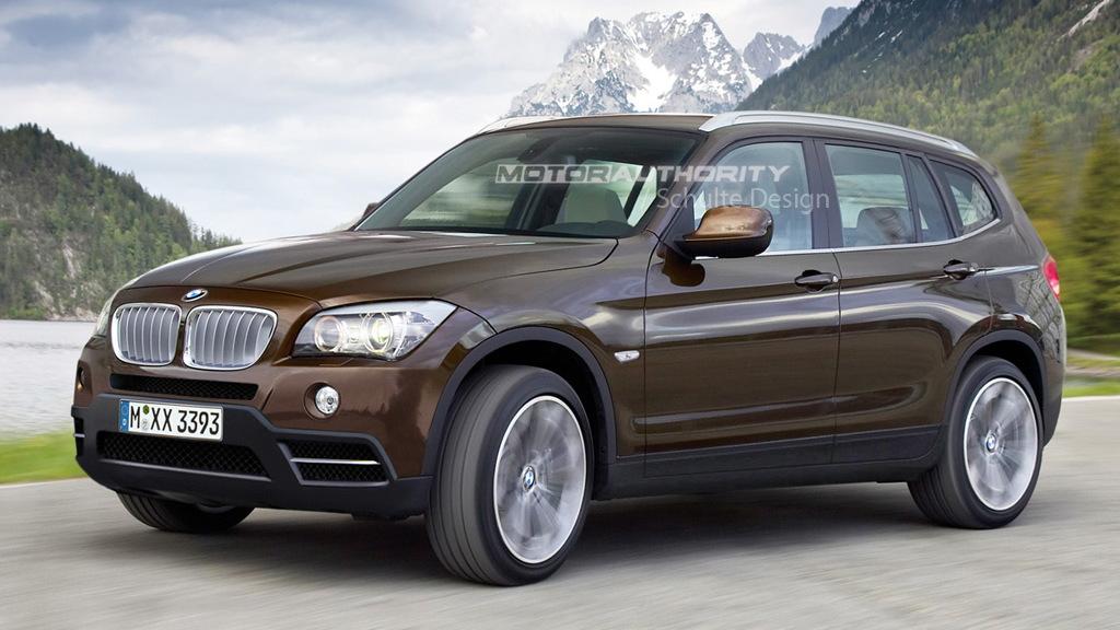 2011 BMW X3 rendering