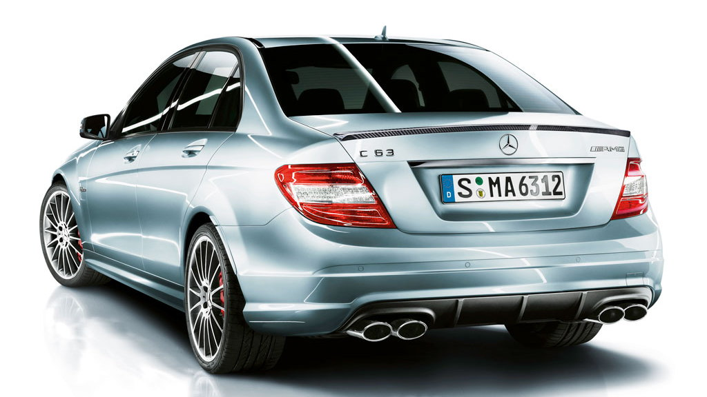 SLS-enhanced Mercedes-Benz C 63 AMG Performance Package Plus