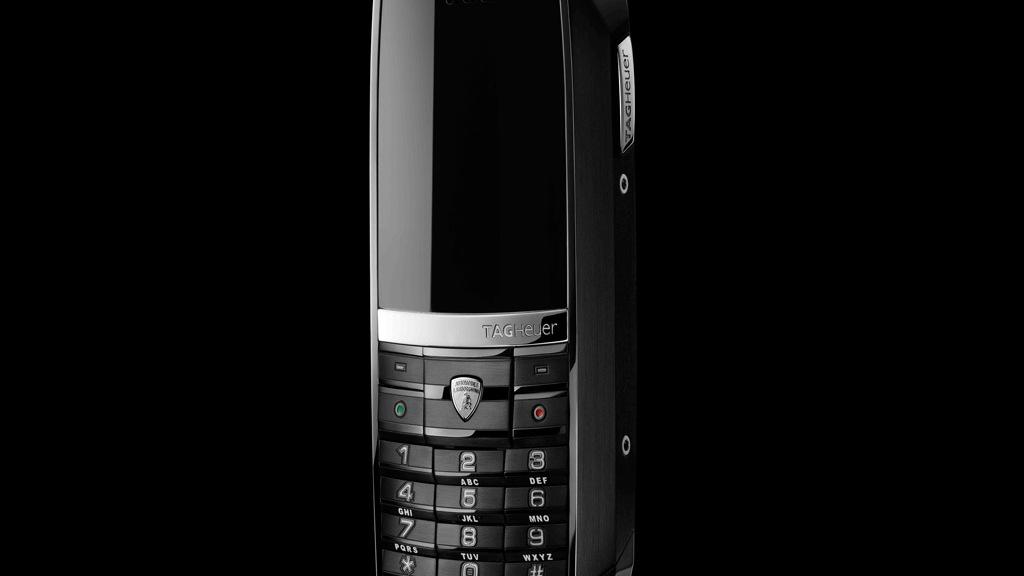 Lamborghini and Tag Heuer Meridiist mobile phone