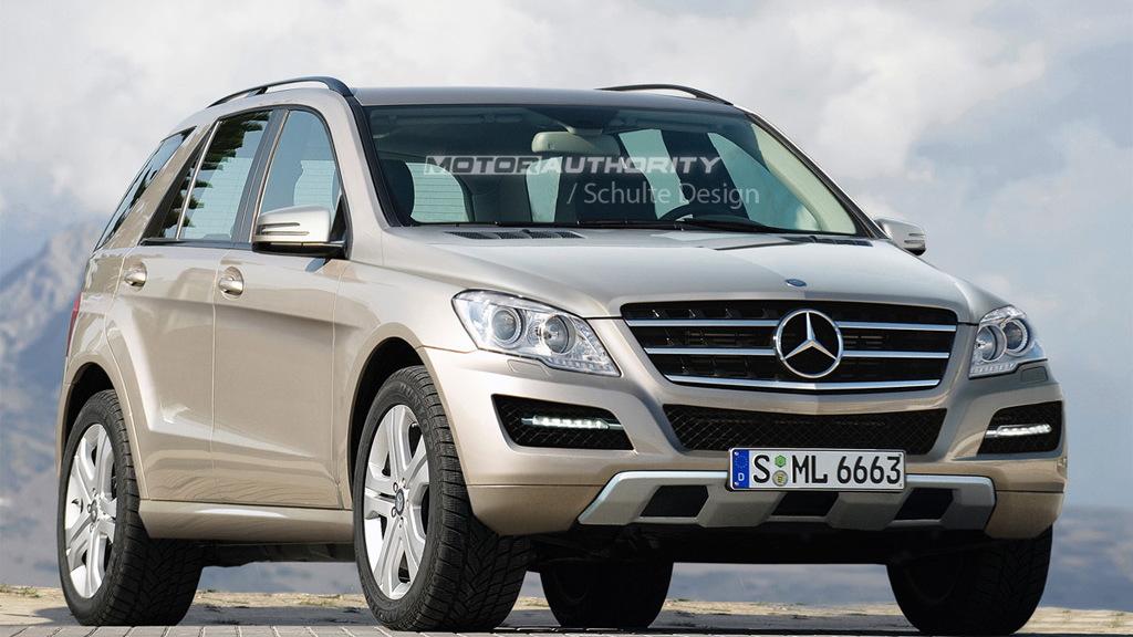 2012 Mercedes-Benz ML-Class rendering