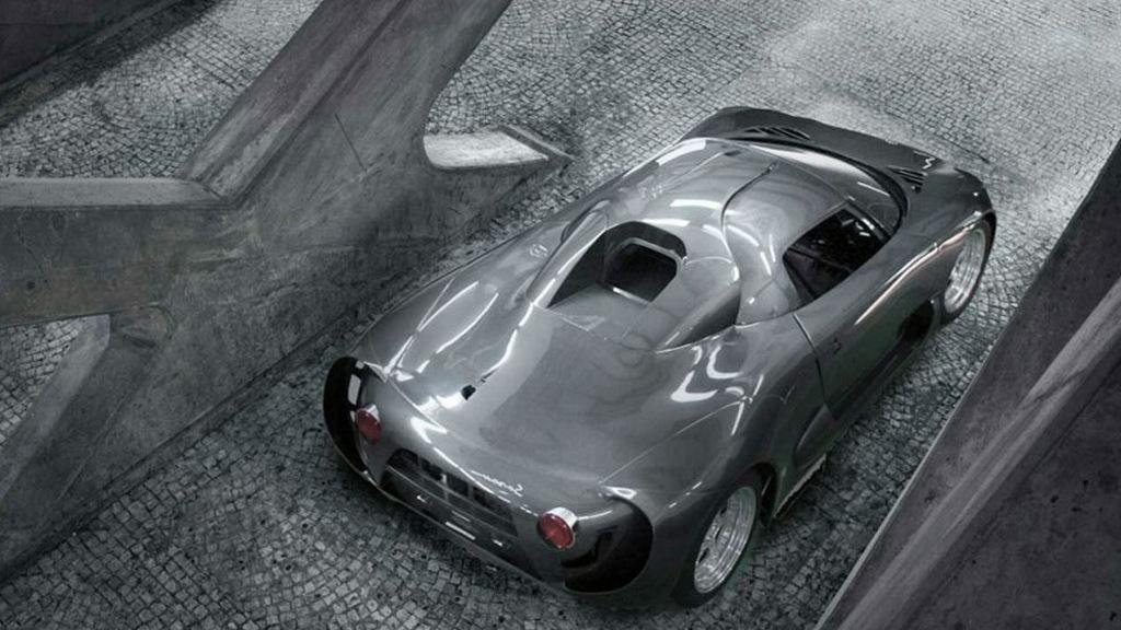 Onuk Sazan supercar prototype