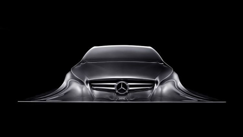 Mercedes-Benz Rising Car Sculpture
