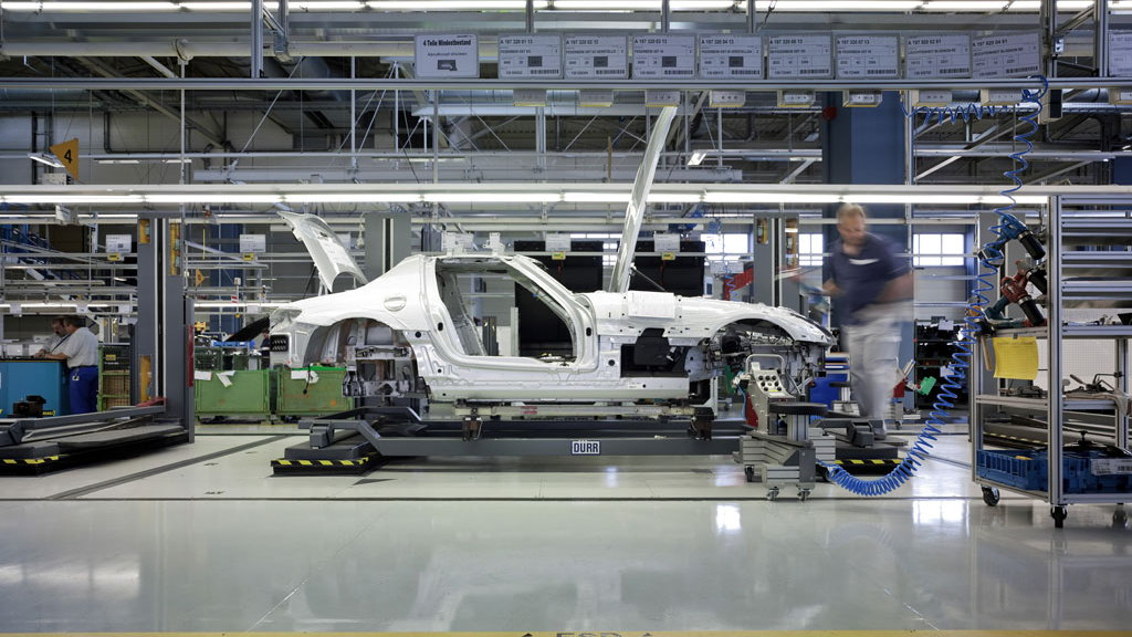 2010 Mercedes-Benz SLS AMG production