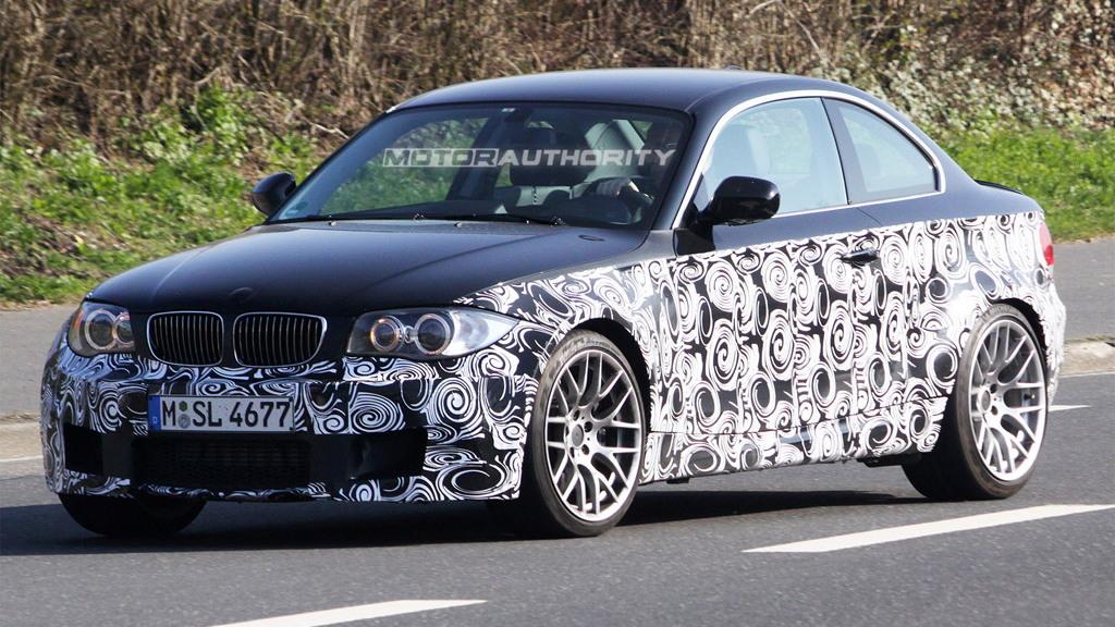 BMW 1-Series M Car or 'M1' spy shots