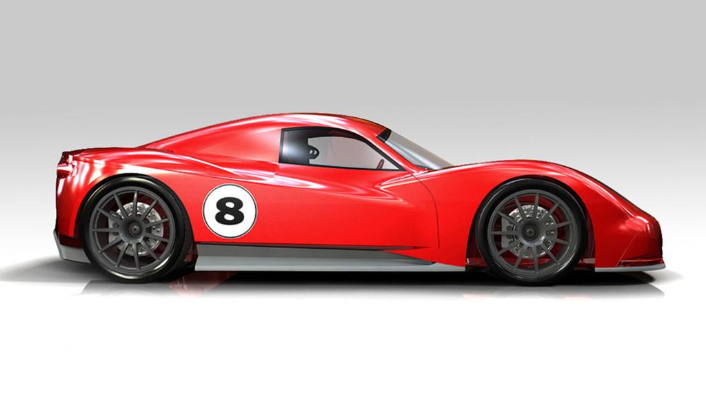 Chevron GR8 race car prototype