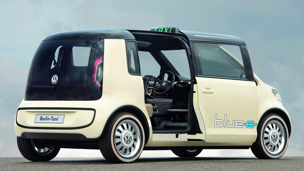 2010 Volkswagen Berlin Taxi Concept