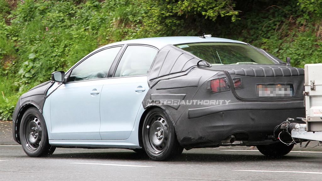 2011 Volkswagen Jetta spy shots