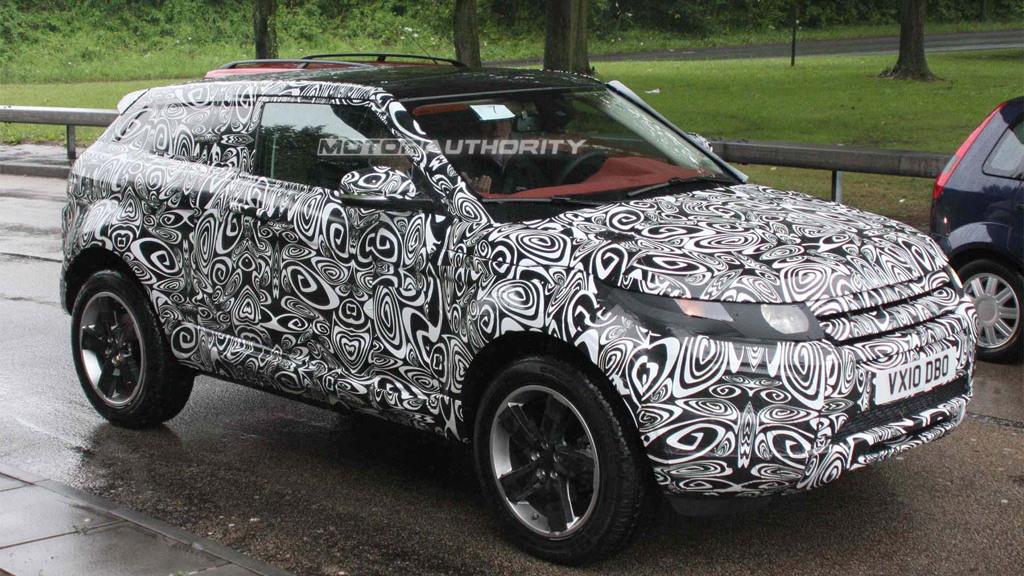 2012 Range Rover LRX spy shots