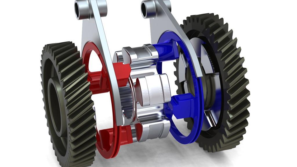Zeroshift clutchless multi-speed gearbox