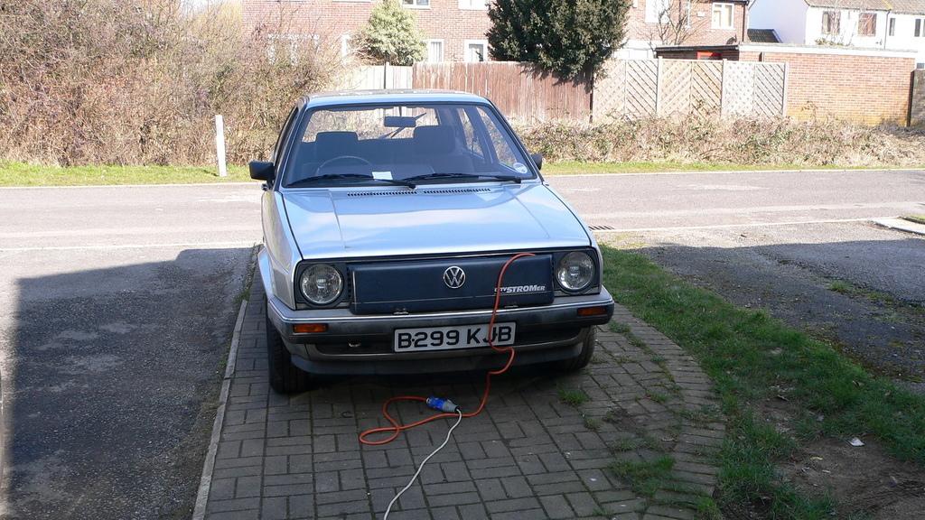 "1985 Volkswagen Rabbit/Golf ""CityStromer"" Electric Car"
