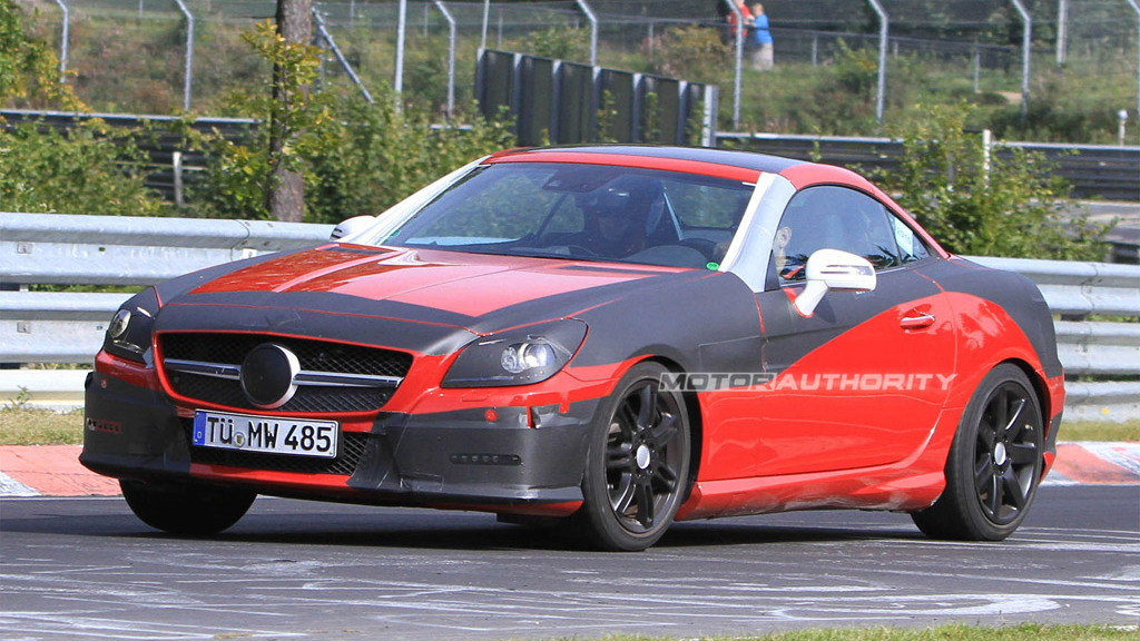 2012 Mercedes-Benz SLK spy shots