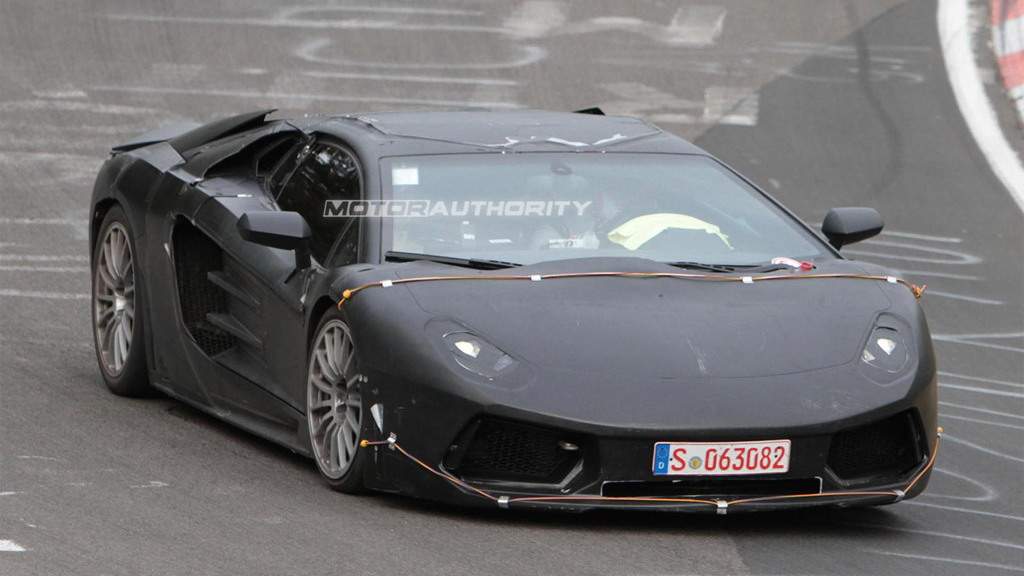 2012 Lamborghini Jota Murcielago replacement spy shots