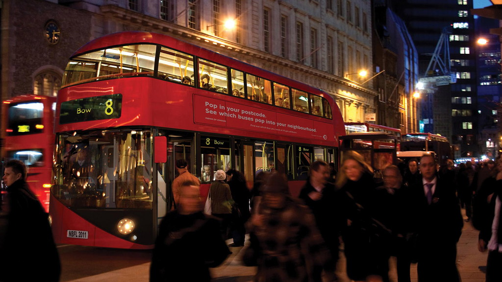 Aston Martin designed London Routemaster bus