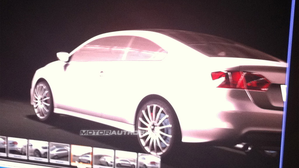 Possible Volkswagen Jetta Coupe design slides