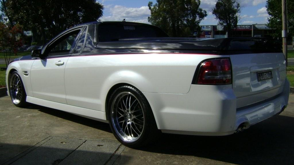 Holden Commodore Ute with Camaro front-end