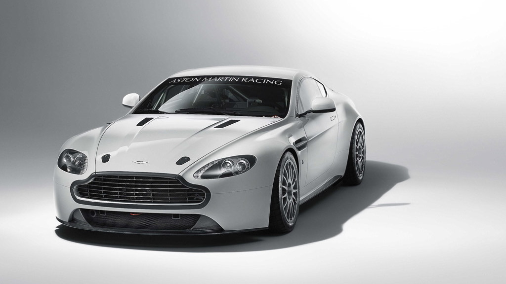 2011 Aston Martin Vantage GT4 race car
