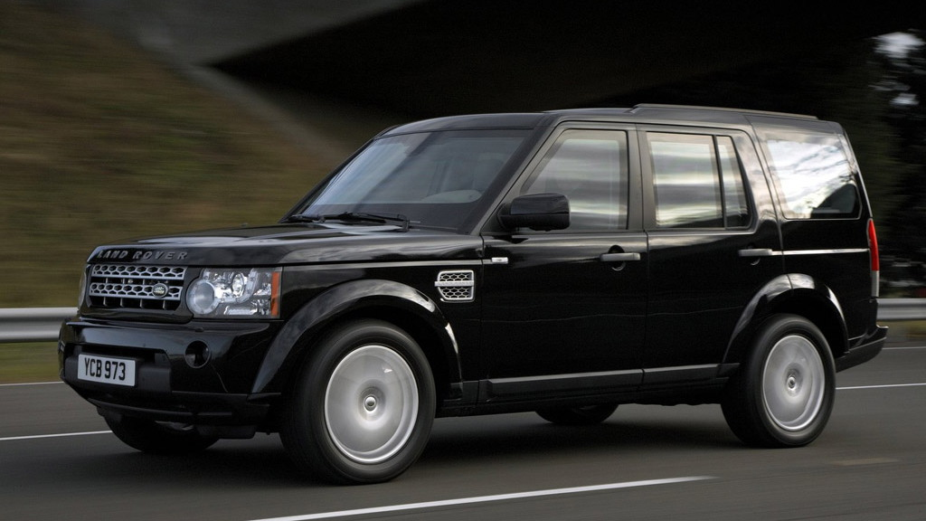 2011 Land Rover LR4 Armored