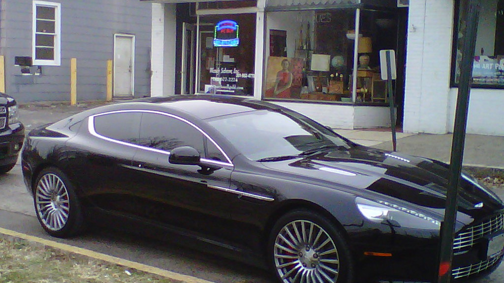 Fabolous' Aston Martin Rapide spotted in New Jersey
