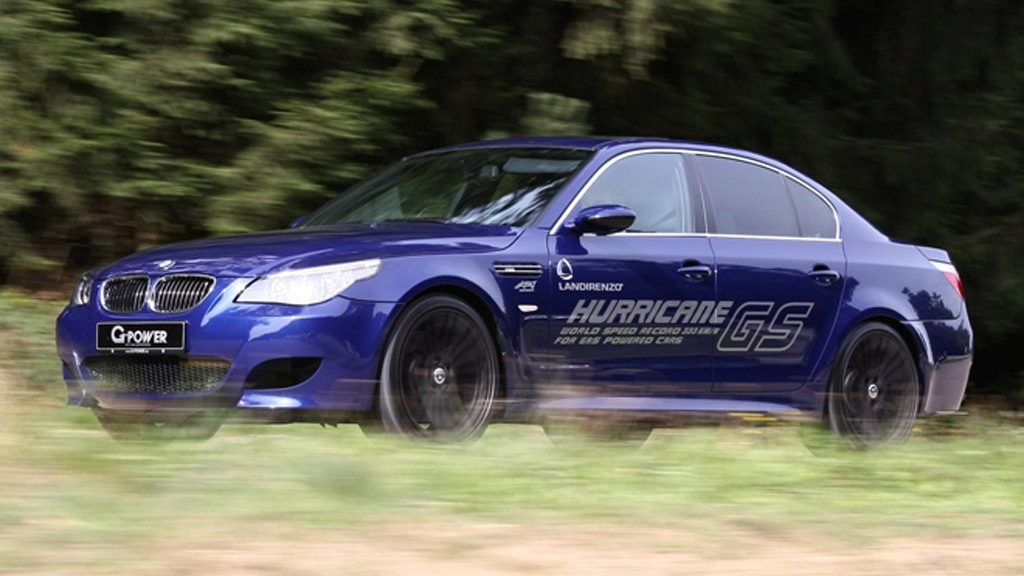 G-Power Hurricane GS natural gas powered BMW M5