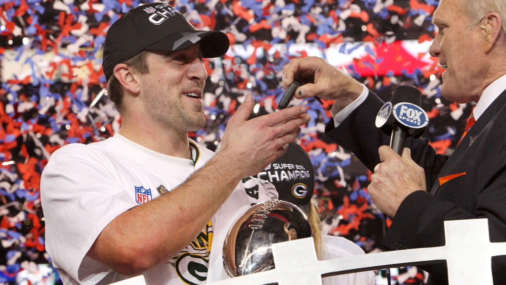 Super Bowl MVP Aaron Rodgers wins new Chevy Camaro Convertible