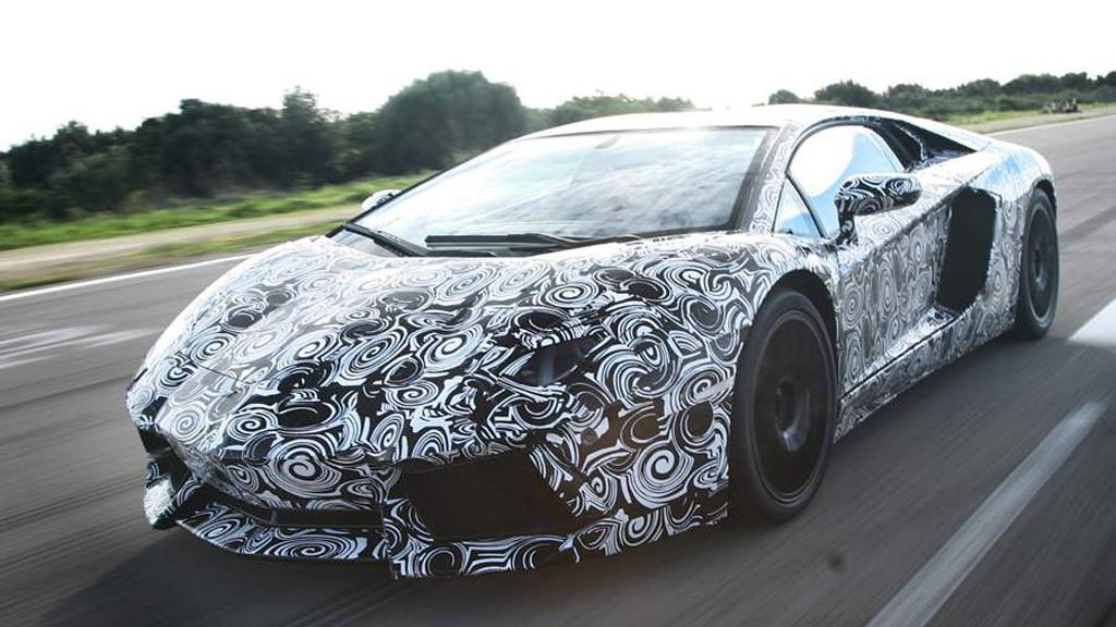 Lamborghini Aventador LP700-4 official teaser