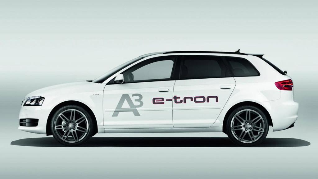 2011 Audi A3 e-tron prototype