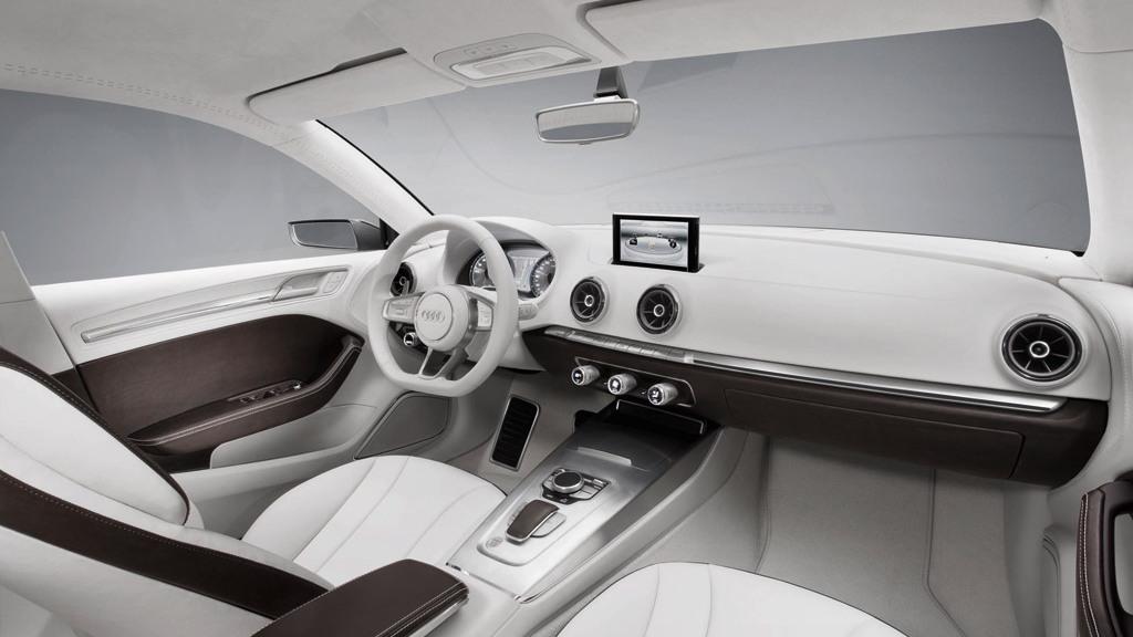2011 Audi A3 Sedan e-tron Concept