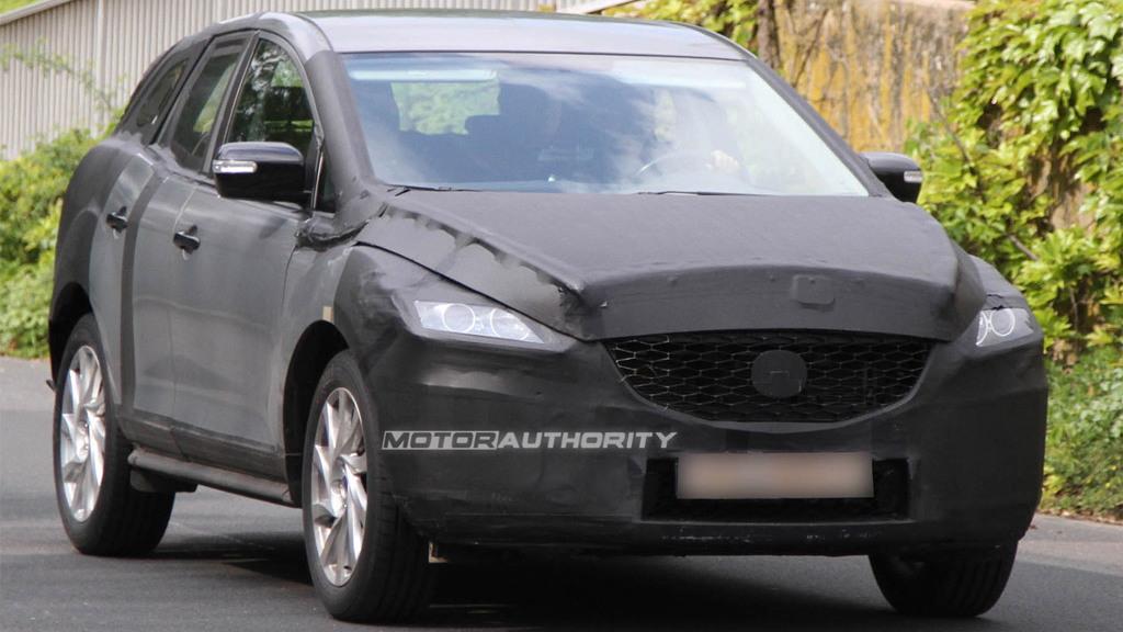 2012 Mazda CX-5 spy shots